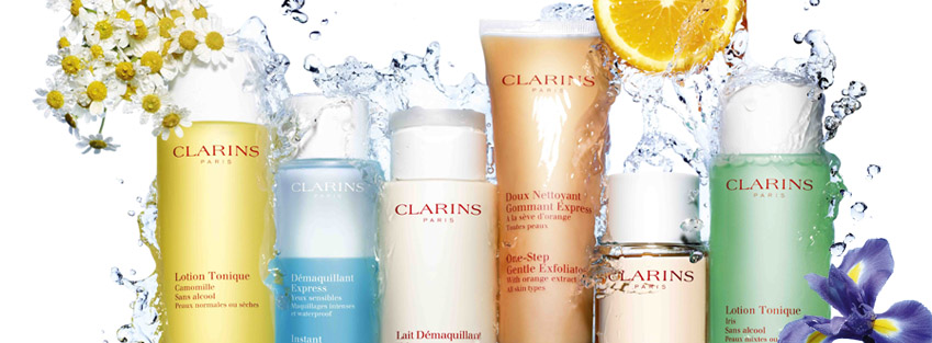 clarins available from Beauty Features