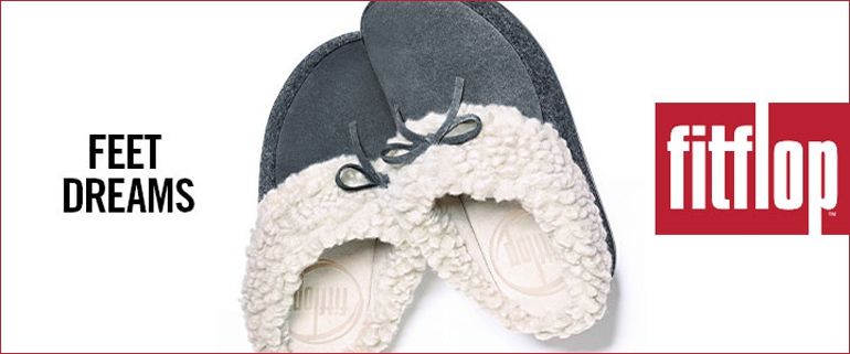 FitFlop Slippers | The Cuddler