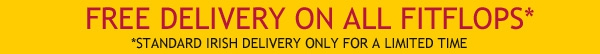 free irish delivery on all fitflop orders