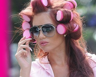 Amy Childs' Rollers