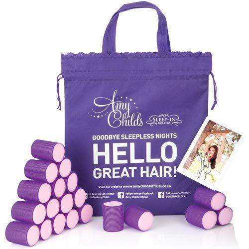 Sleep in Rollers Amy Childs' Rollers